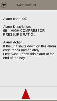 Thermo King alarm codes apk screenshot