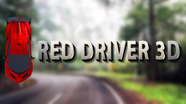 Red Driver 3D apk screenshot