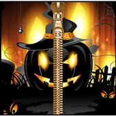 Halloween Zipper lock Screen icon