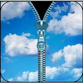 Sky Zipper Lock Screen icon