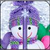 Snowman Zipper Lock Screen icon