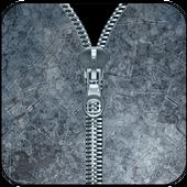 Transparent Zipper Lock Screen icon