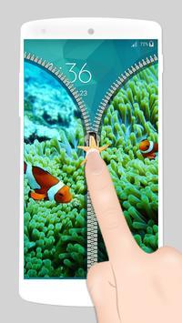 aquarium fake zipper lock screenshot 2