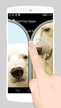 bear fake zipper lock apk screenshot