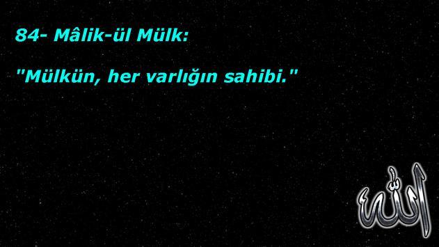 Esma-Ül Hüsna (99 İsim) screenshot 2