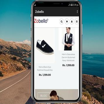 Zobello - Online Fashion Store For Man screenshot 2