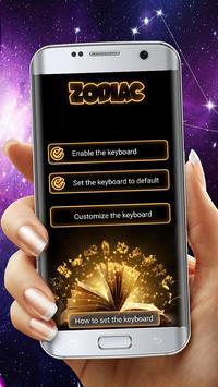 Zodiac Sign Keyboard Themes apk screenshot