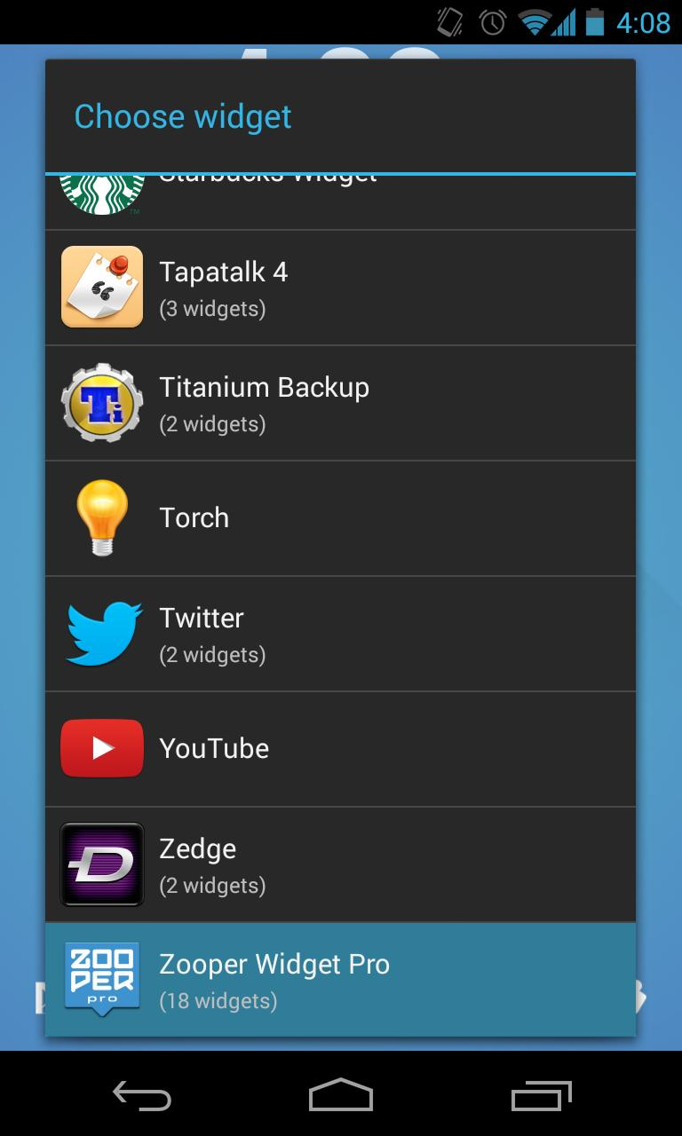 CLN Music - Zooper Widget Skin for Android - APK Download