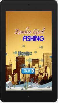 Zombie Girl Fishing screenshot 4