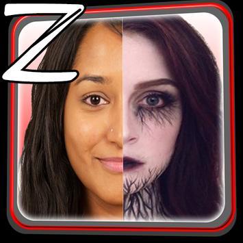Zombie Photo Camera apk screenshot