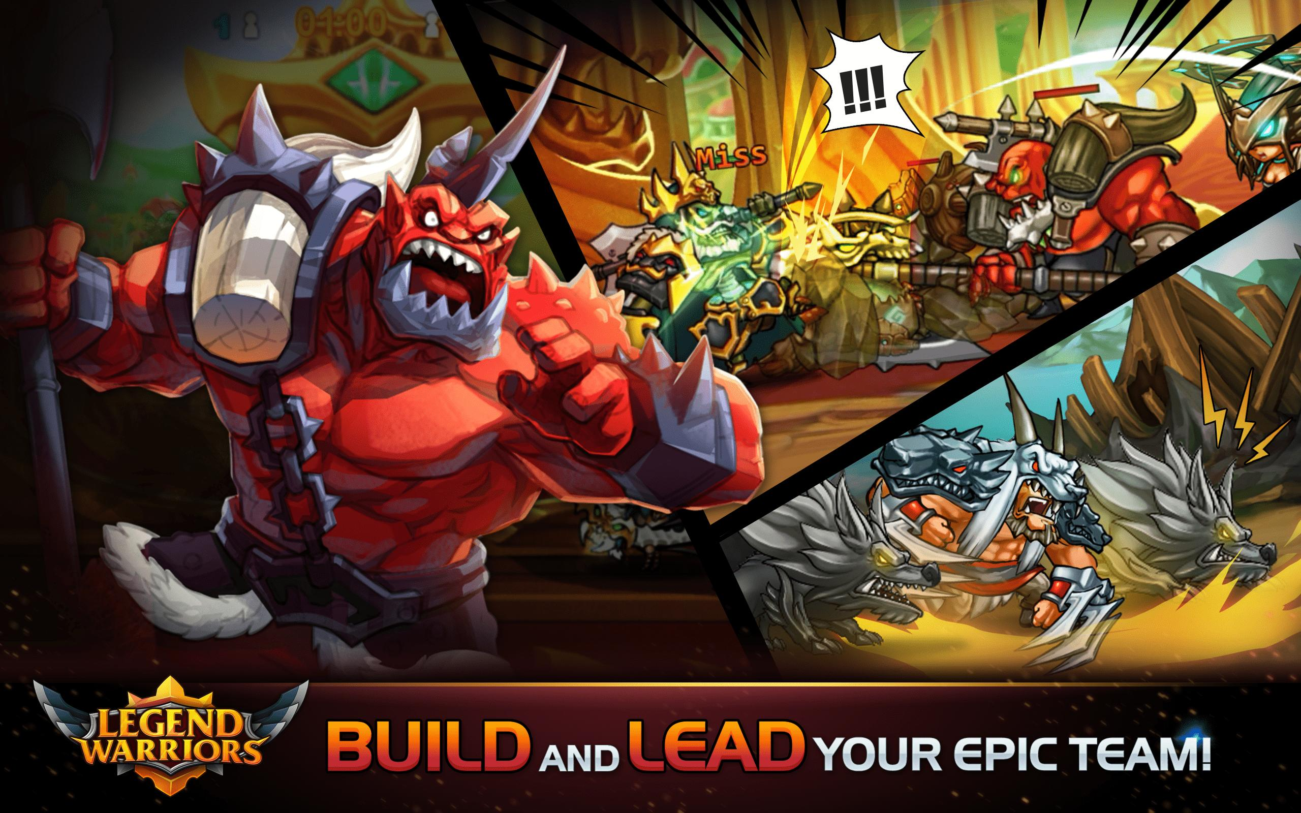 Legend Heroes: Epic Battle - Action RPG for Android - APK