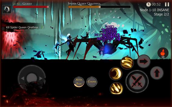 Shadow of Death: Dark Knight - Stickman Fighting apk screenshot