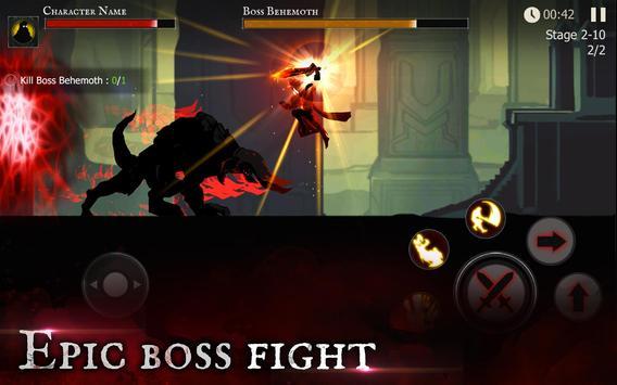 Shadow of Death: Dark Knight - Stickman Fighting apk screenshot
