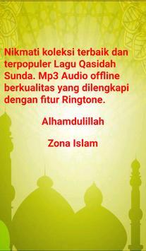Mp3 Lagu Qasidah Sunda (Offline + Ringtone) screenshot 4