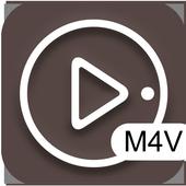 M4V video player icon