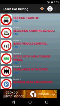 Learn Car Driving Theory poster