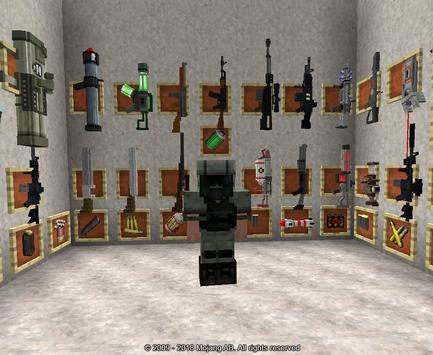 Guns Mod For Minecraft Ideas poster