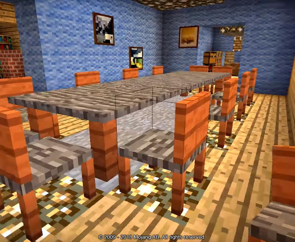 мод для майнкрафт на мебель #7