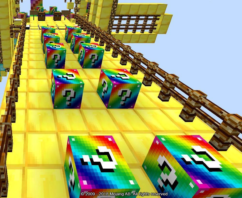 Играть на карте лаки блоки в майнкрафт фото казино крмп