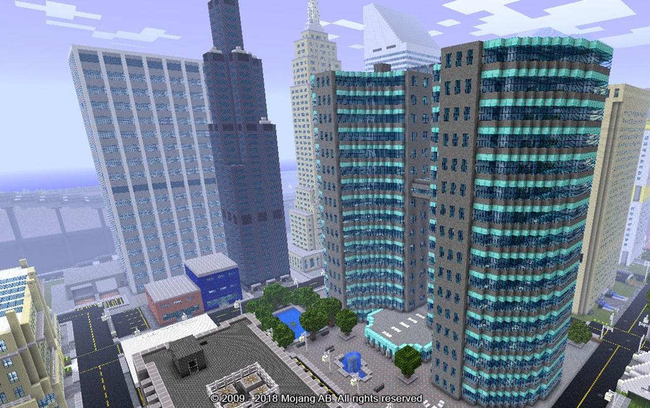2018 Minecraft City Maps Ideas für Android - APK herunterladen