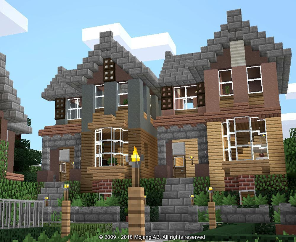 2018 minecraft house building ideas mod for android apk - Building a new home ideas ...