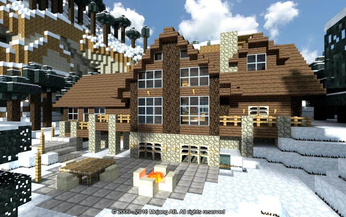 2018 Minecraft House Building Ideas Mod For Android