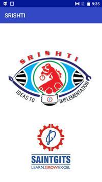 Srishti App poster