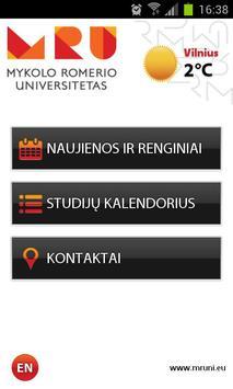 Mykolas Romeris University poster
