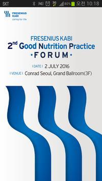 Good Nutrition Practice FORUM poster
