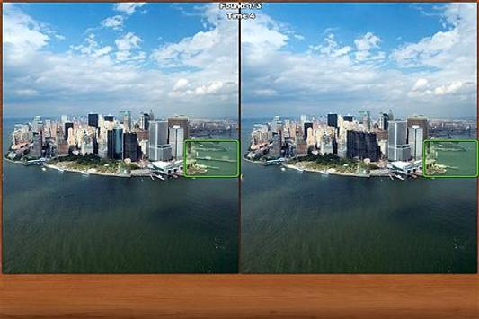 New York Spot the Difference poster