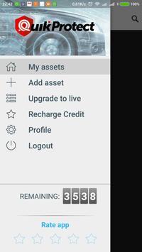 QuikProtect Plus screenshot 1