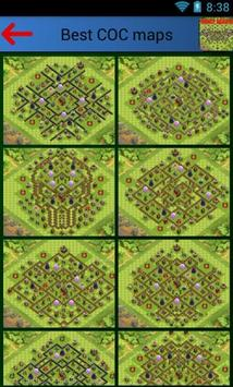 Best Clash of clans maps poster
