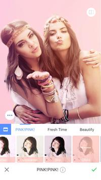 Meitu – Beauty Cam, Easy Photo Editor الملصق
