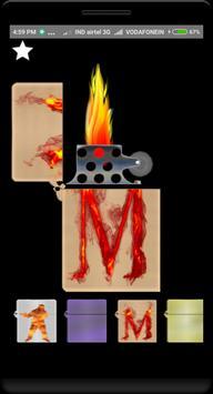 Virtual cigarette lighter poster