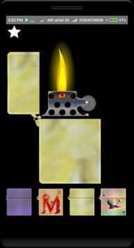 Virtual cigarette lighter apk screenshot