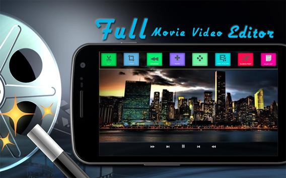 Full Movie Video Editor apk screenshot