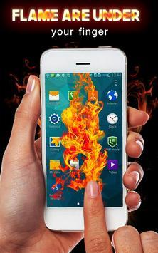 Fire Screen FingerTouch Prank apk screenshot