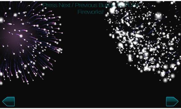 Fireworks New Year 2017 3d screenshot 3