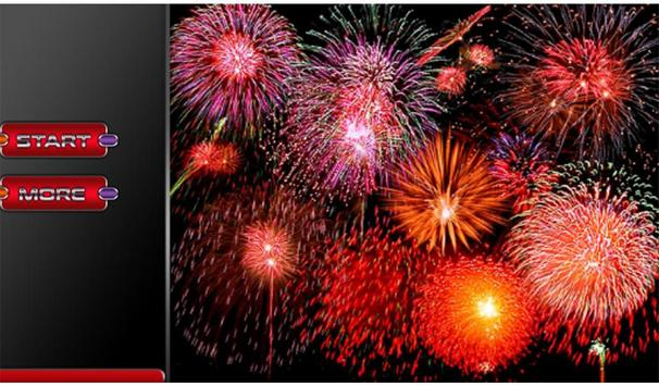 Fireworks New Year 2017 3d screenshot 10