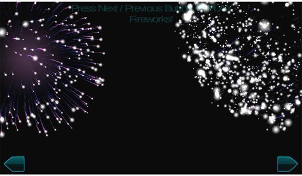 Fireworks New Year 2017 3d screenshot 13