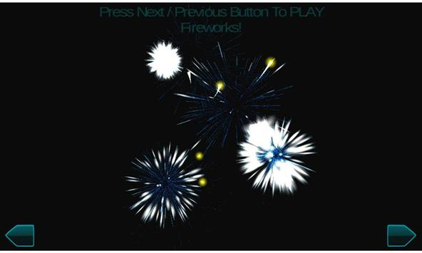 Fireworks New Year 2017 3d screenshot 1