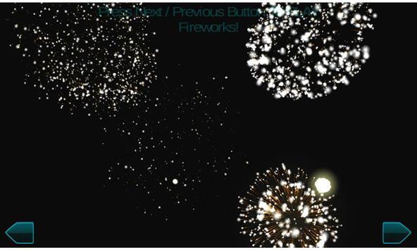 Fireworks New Year 2017 3d screenshot 2