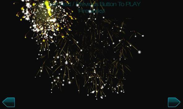 Fireworks New Year 2017 3d screenshot 4