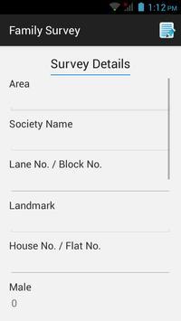 Family Survey apk screenshot