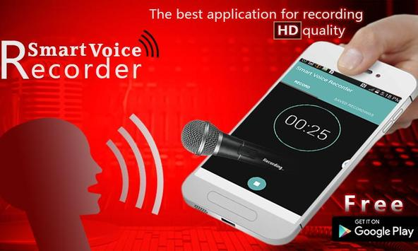Smart Voice Recorder poster