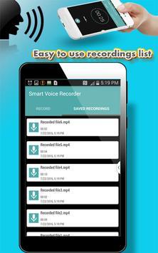 Smart Voice Recorder apk screenshot