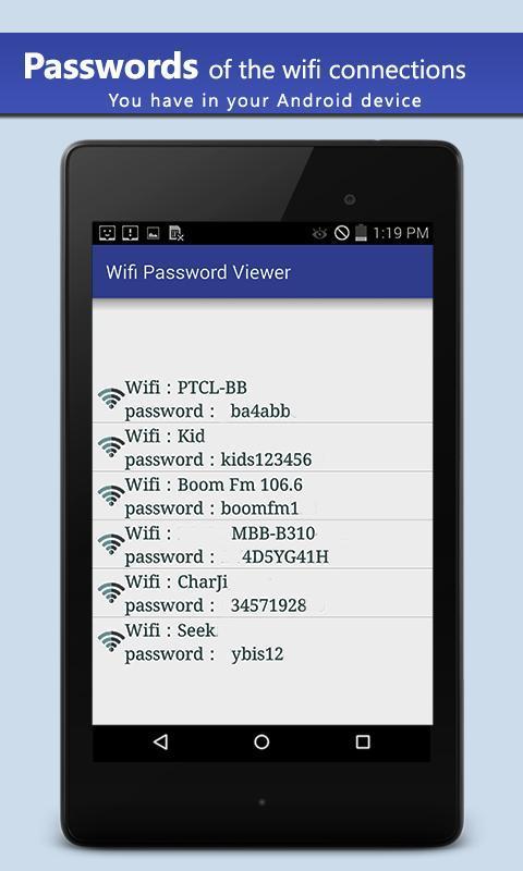 Wifi Password Viewer APK Baixar - Grátis Ferramentas ...