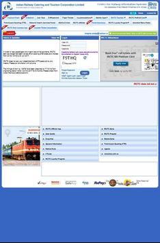 Indian Rail Enquiry & Booking apk screenshot