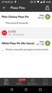 Pizza NY Ordering App apk screenshot