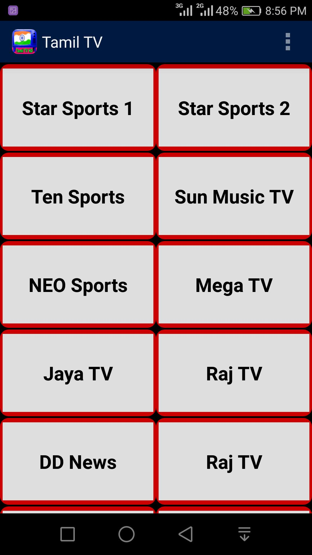 Tamil Live TV All Channels for Android - APK Download